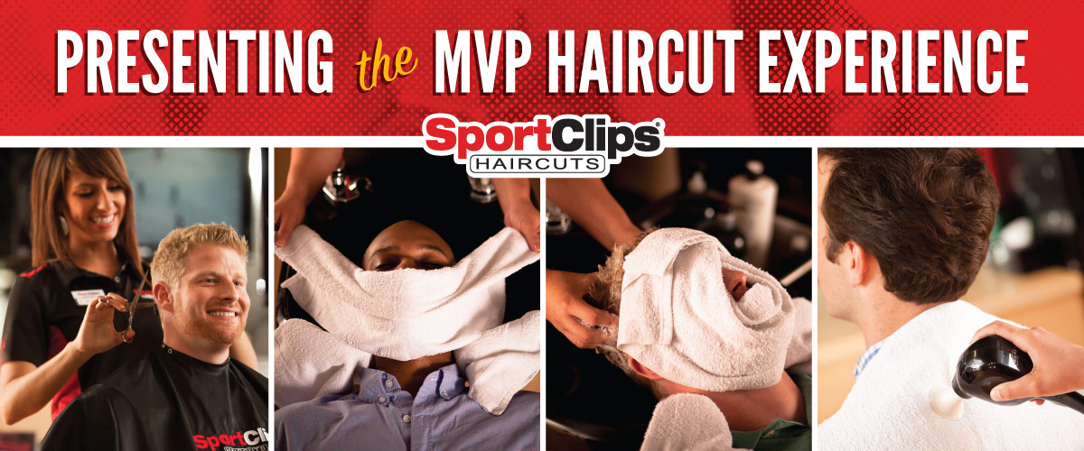 The Sport Clips Haircuts of Libertyville MVP Haircut Experience